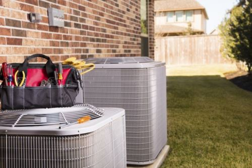 AC Repair from storm damage